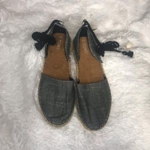 Toms Ankle Lace Shoes